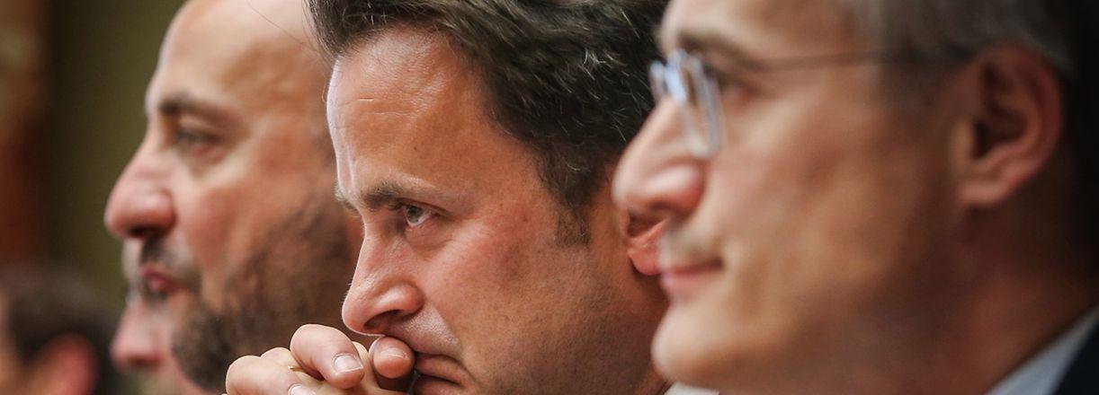 Xavier Bettel reconnaît qu'il aurait dû en informer les membres de la commission parlementaire.