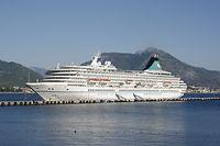 An Bord der Artania mit Cruisopolis auf allen Meeren unterwegs.(FOTO: JEAN-PIERRE ANTONY)