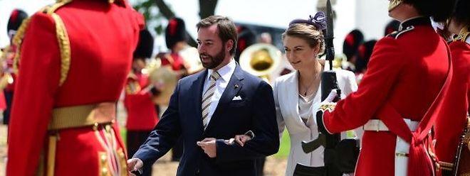 Am Mittwoch war Erbgroßherzog Guillaume mit Prinzessin Stéphanie in Waterloo, am Freitag werden Großherzog Henri und Großherzogin Maria Teresa Luxemburg in Belgien vertreten.