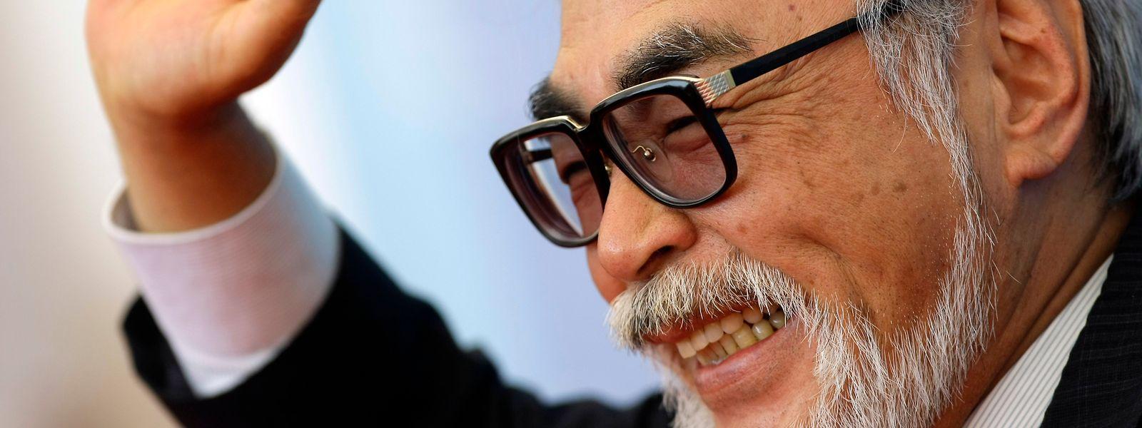 Der Altmeister des japanischen Animationsfilms Hayao Miyazaki 2008 bei den Filmfestspielen in Venedig.