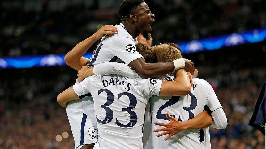 Die Spieler von Tottenham hatten allen Grund zur Freude.