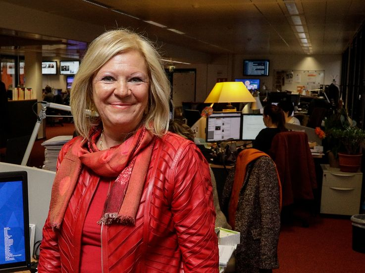 17.11.Chefredakter fir een Dag , Marie-Anne Rodesch-Hengesch / Foto:Guy Jallay