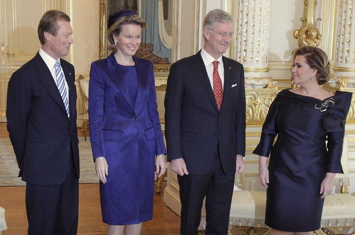 A Grã-Duquesa Maria Teresa não poderá acompanhar os reis belgas nesta visita por estar a recuperar da cirurgia ao joelho.