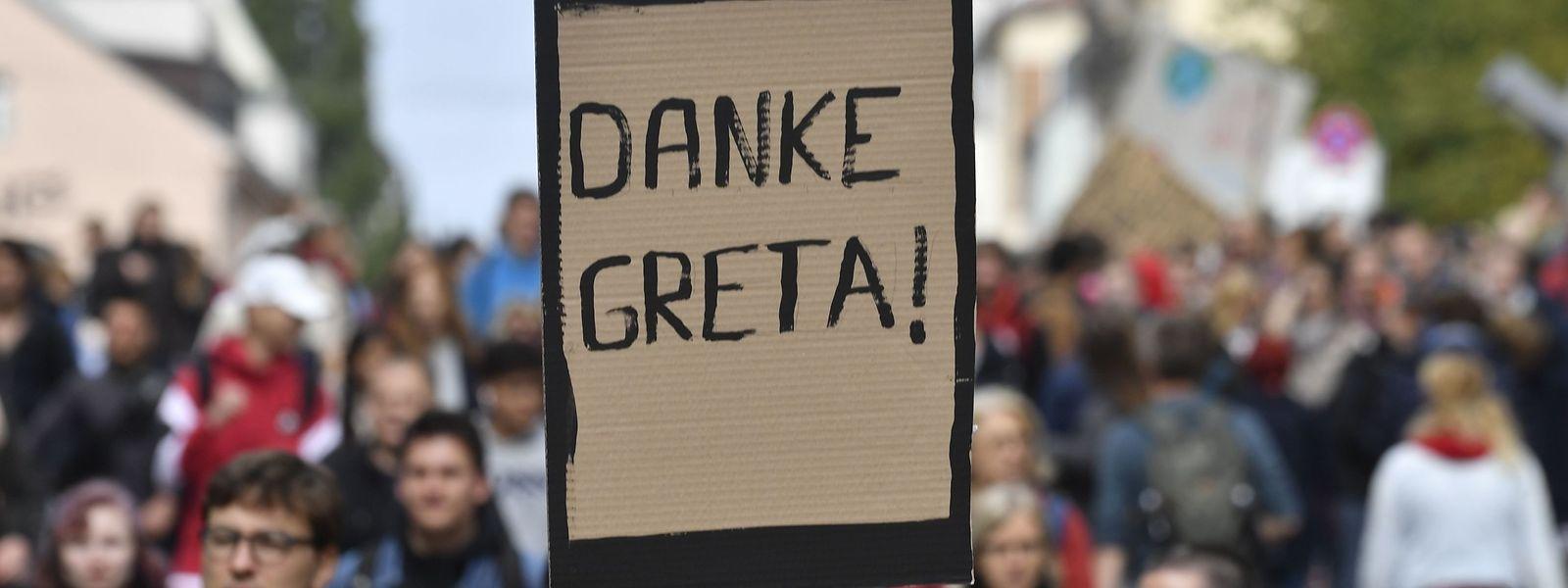 Mobilisiert die Massen: Greta Thunberg, die Klimakämpferin aus Schweden.