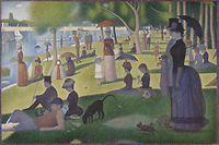 Un dimanche après-midi à l'Île de la Grande Jatte credit line: Helen Birch Bartlett Memorial Collection Art Institute Chicago