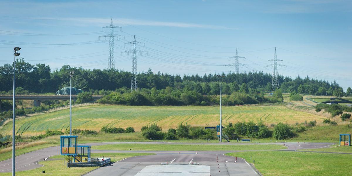 Der Ausbau erfolgt auf einem 4 Hektar großen, angrenzenden Gelände.