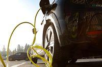 Illustration, Mobilität, E-Auto, elektro Auto, aufladen, Aufladestationen auf dem Glaçis Foto: Luxemburger Wort/Anouk Antony