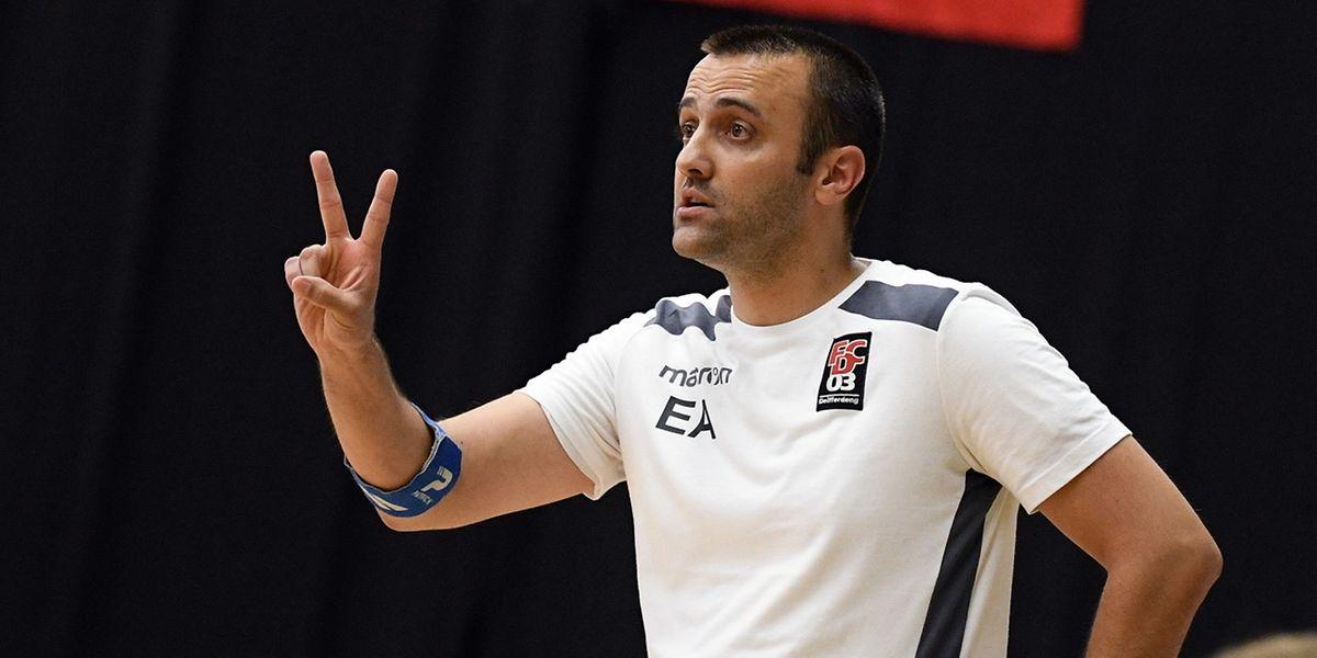 Le coach diffderdangeois Elio Almeida risque gros après son comportement samedi soir.