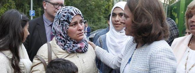 Corinne Cahen, ministre de la Famille et de l'Intégration: «Tout demandeur de protection internationale a le droit d'être accueilli».