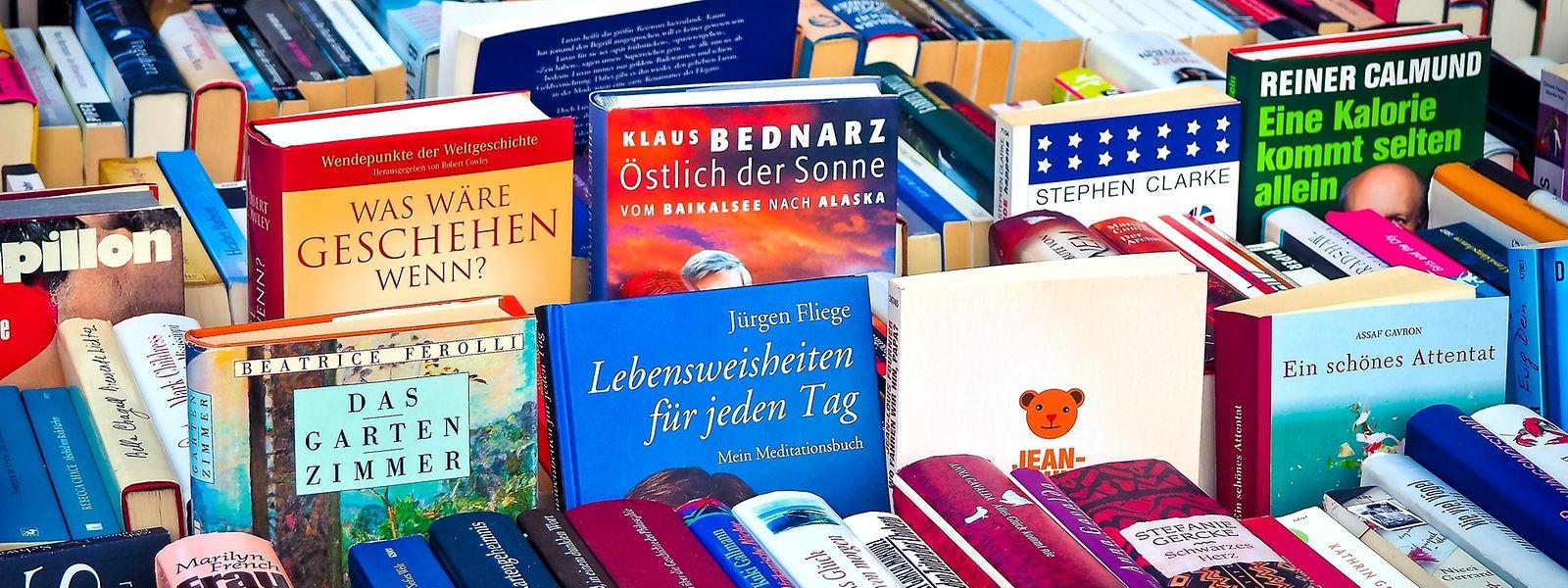 Les livres d'occasion bénéficient d'ores et déjà d'une taxe réduite, rappelle Pierre Gramegna.