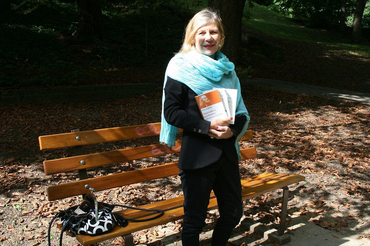 Marie-Rose Hary, dans le parc de la Pétrusse, le 8 septembre 2015