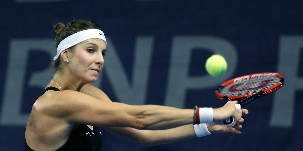 Mandy Minella nutzte ihren ersten Matchball zum Sieg.