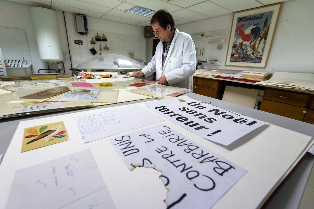 Plus d'une centaine de messages d'hommage et de soutien ont déjà été collectés, les premiers dès le 18 décembre, soit une semaine après l'attentat.