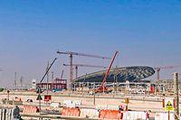 Le pavillon luxembourgeois est en cours de construction sur le suite de l'Exposition universelle de Dubaï 2020