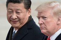 Chinas Präsident Xi Jinping und US-Präsident Donald Trump.