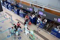 Fluggäste müssen sich vorher informieren, welche Einreisebestimmungen für ihr Reiseziel gelten.