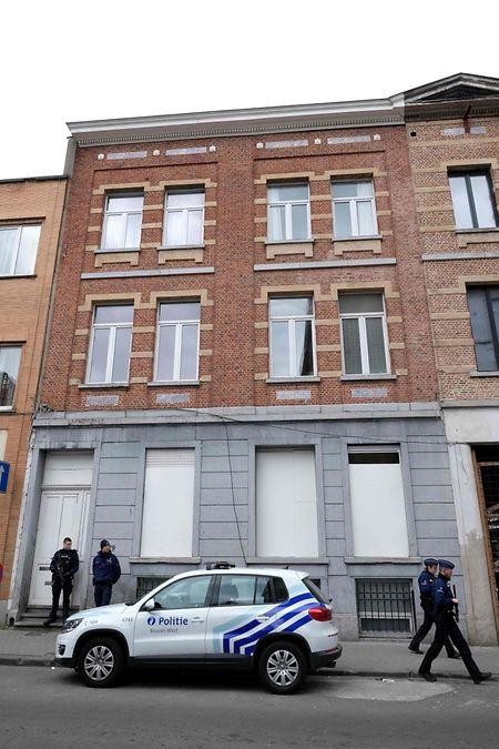 In diesem Haus im Brüsseler Stadtteil Molenbeek wurde Abdeslam aufgespürt.