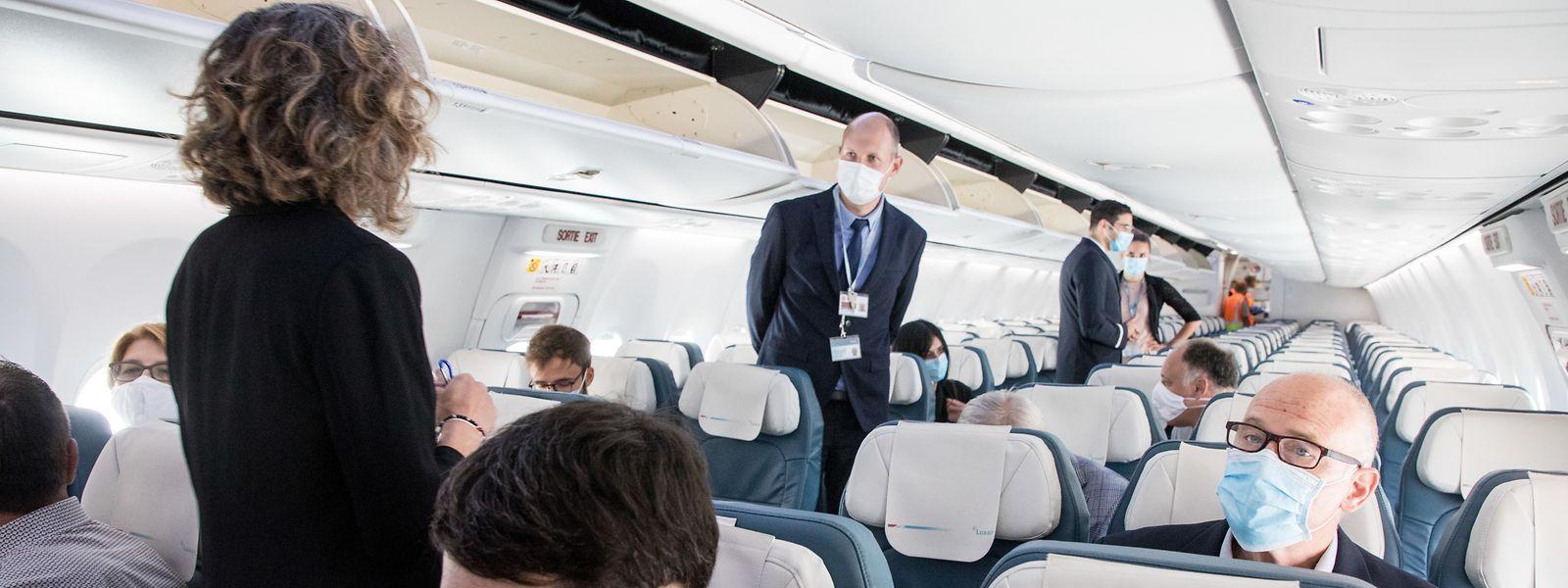 Il faudra juste s'habituer au nouveau look des passagers et du personnel de bord.