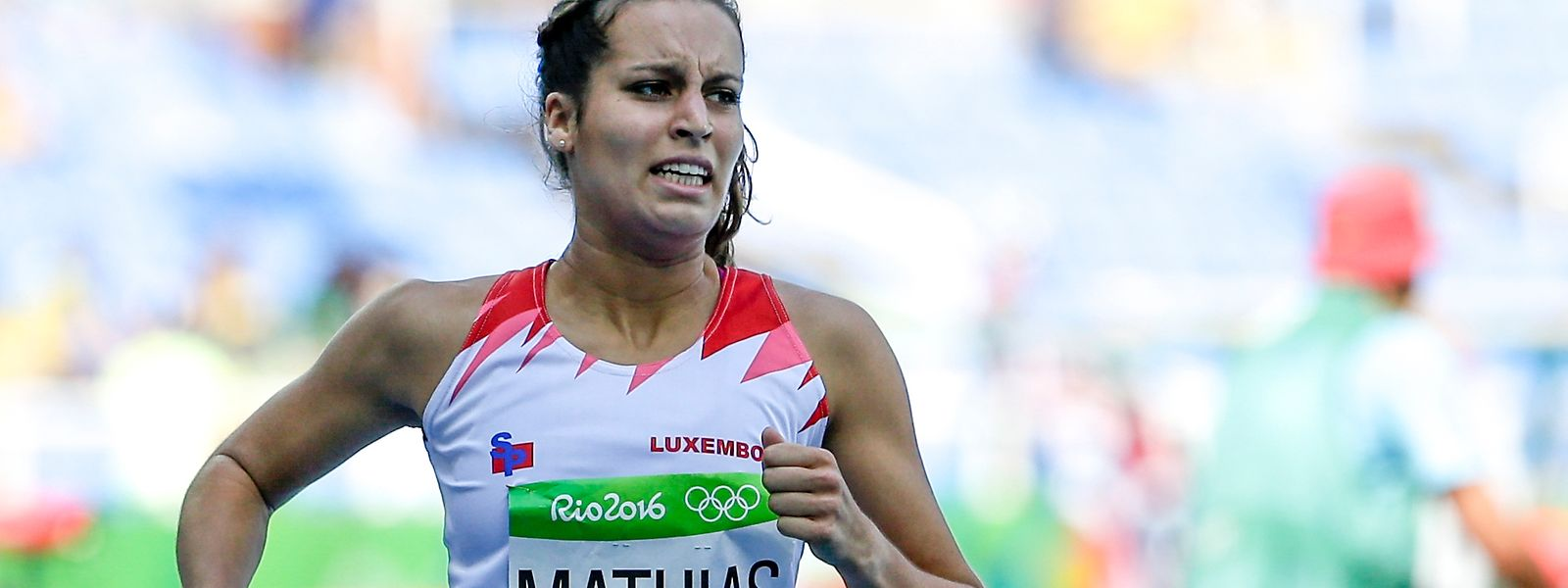 Charline Mathias lief die 1000 m in 2'42''99.