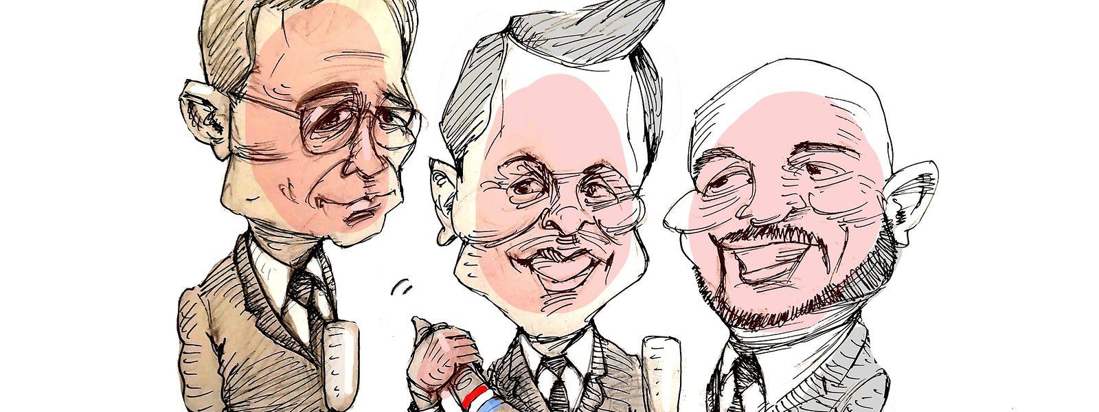 Premierminister Xavier Bettel (DP) hat nichts zu befürchten: Mit Etienne Schneider (LSAP) und Felix Braz (Déi Gréng) hat er gleich zwei Vertreter an seiner Seite.