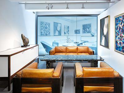 O mobiliário do salão do casal Pauly-Groff, de Esch-sur-Alzette, pode ser visto gratuitamente esta terça e quinta-feira no MNHA