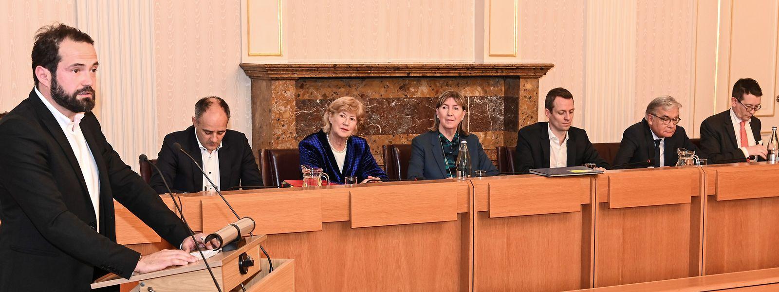 A 42 ans, Gabriel Boisante devient conseiller communal de la Ville de Luxembourg