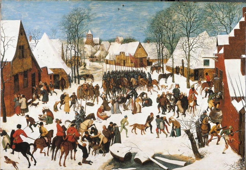 Pieter Breughel d. Ä.: ''Der Bethlehemitische Kindermord'' (1566)