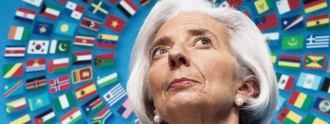 Christine Lagarde blickt mit Skepsis auf die Entwicklung der Weltwirtschaft.