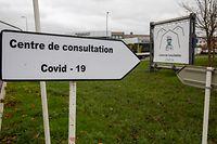 Lokales,2ieme Centre de Consultation Covid Esch/Alzette.Foto: Gerry Huberty/Luxemburger Wort