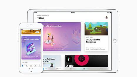 iOS 11 ist kompatibel mit allen iPhones ab dem iPhone 5S, dem iPad ab dem Modell iPad mini2 und dem iPod touch (6. Generation).