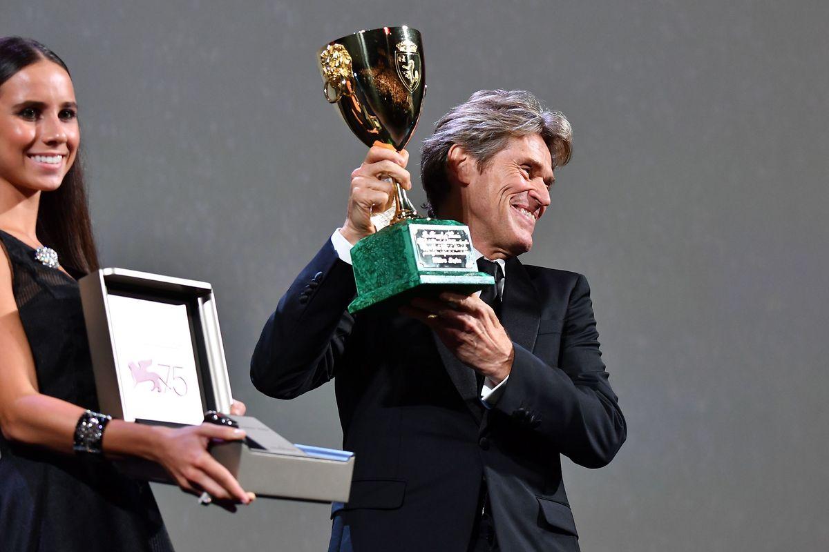 Willem Dafoe a décroché le prix d'interprétation masculine.