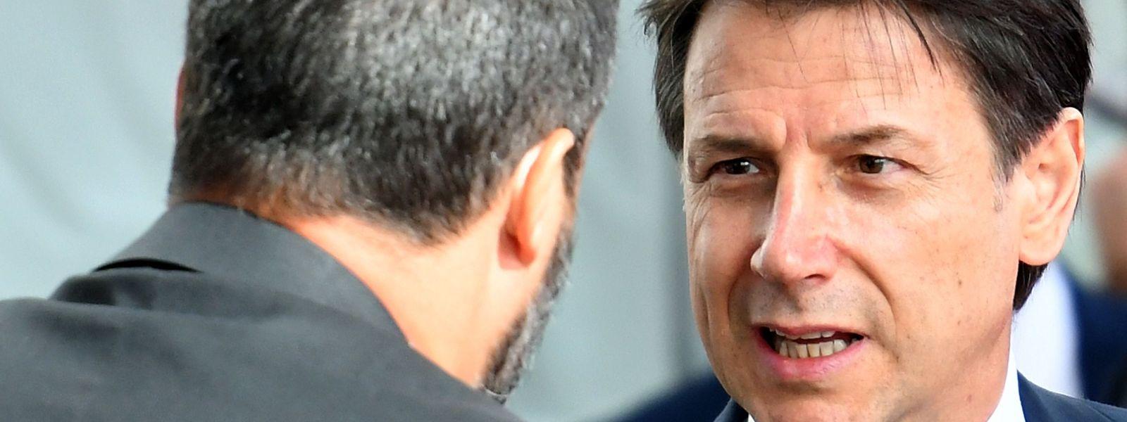 La fin de la bella vita entre Giuseppe Conte et son ministre de l'Intérieur, Matteo Salvini.