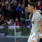 Vídeo. Ronaldo marca e ajuda Juventus a ganhar