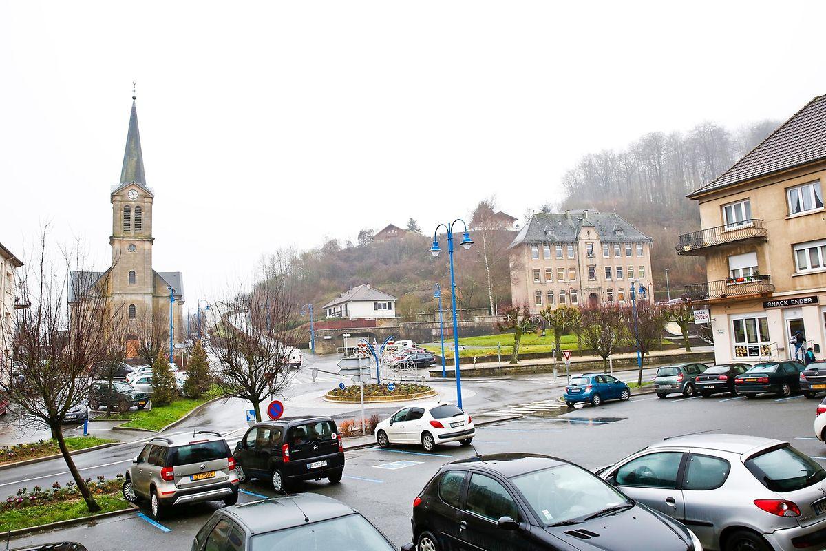 """Die acht Windräder entstehen auf der """"Croix Saint-Marc"""", einer Anhöhe der kleinen Grenzgemeinde Ottange/Nondkeil."""