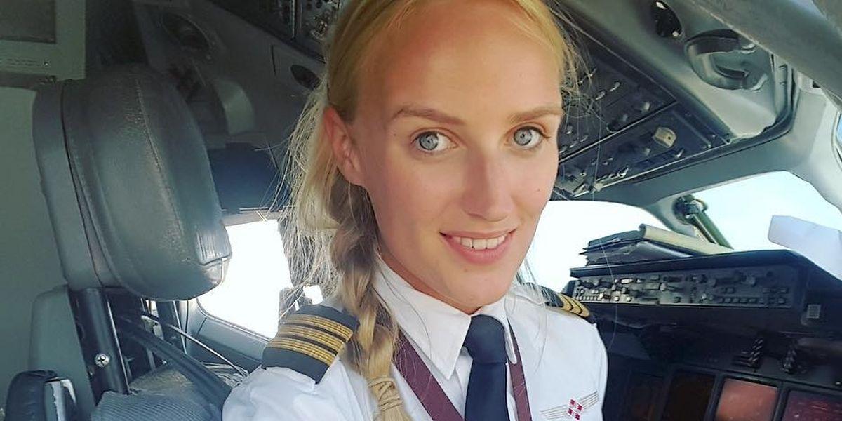 A piloto holandesa Lindy Kats, de 26 anos, formou-se na escola European Flyers, em Madrid.