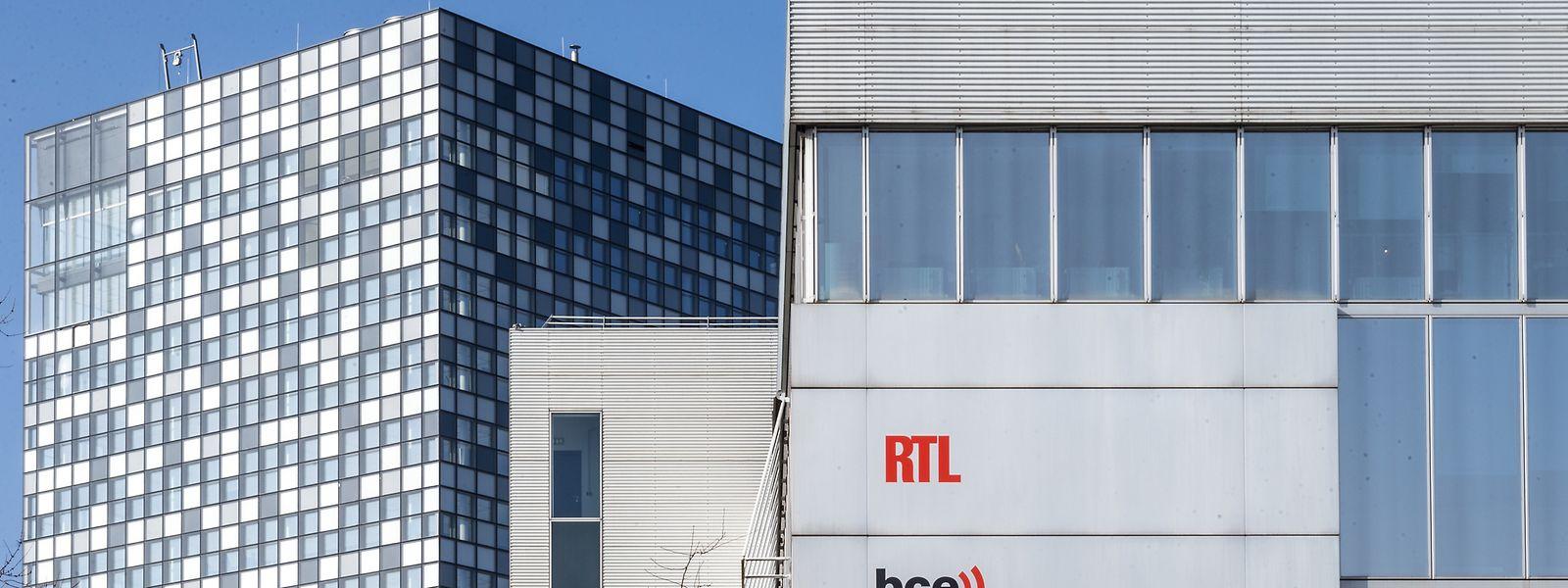 Der Konzernsitz der RTL Group in Luxemburg-Kirchberg - Teile der Konzernaufgaben sollen nach Köln verlagert werden.
