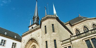 Three spires, one dating back to the 17th century Photo: Anouk Antony
