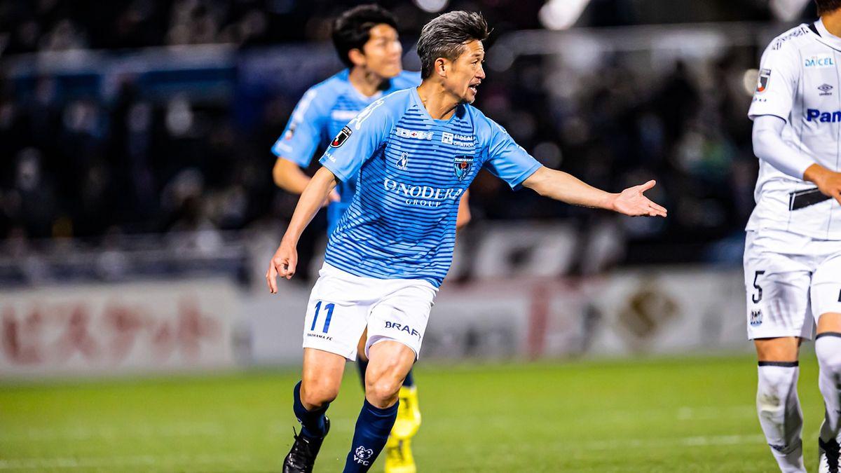 Kazuyoshi Miura will seinem Team auf dem Platz helfen.
