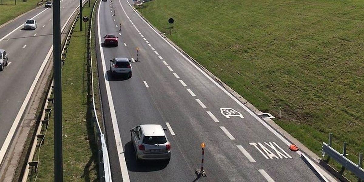 Le ministère de la Mobilité et des Travaux publics a présenté les premiers éléments du système de couloir de covoiturage et de bus sur l'A6.