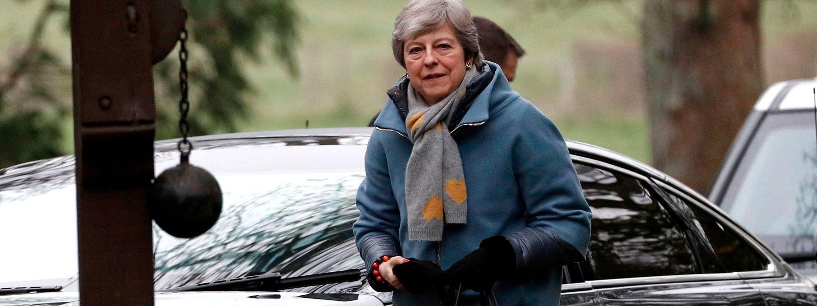 Theresa May will einen Aufschub des EU-Austritts von Großbritannien.