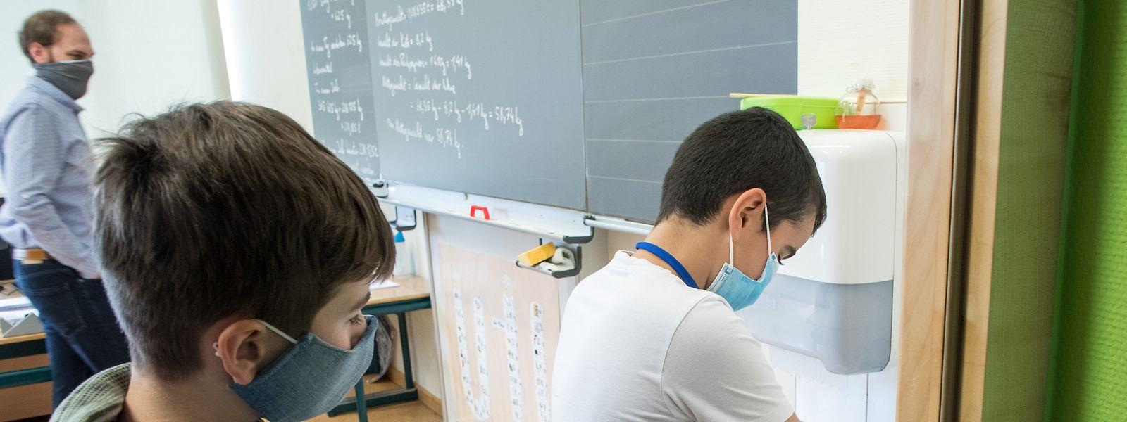 Les enseignants auraient à déterminer quels seraient les huit enfants de leur classe à bénéficier du soutien scolaire.