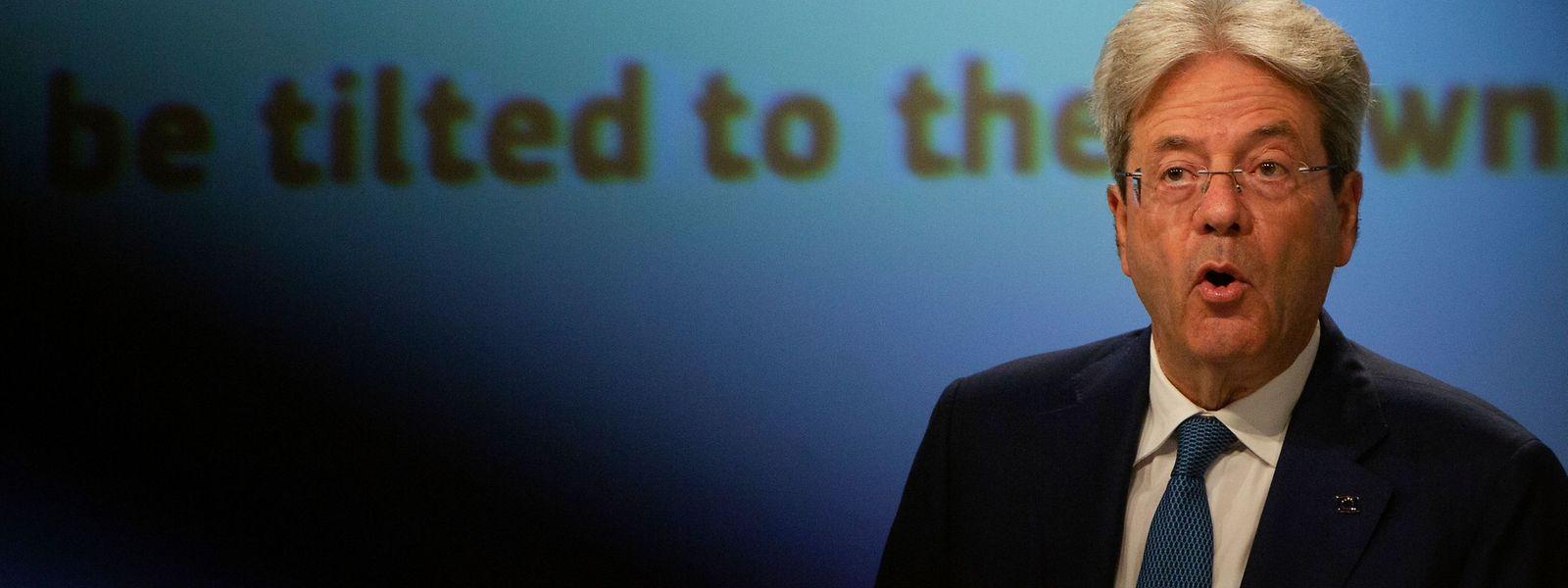 EU-Kommissar Paolo Gentiloni meint, die Zeit sei reif für ambitionierte Steuerreformen.