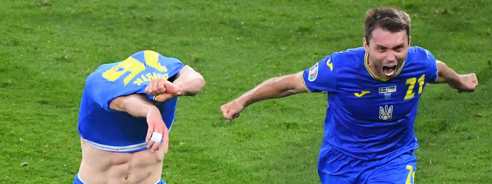 Le dernier huitième de finale est encore allé au bout du suspense, avant la victoire ukrainienne.