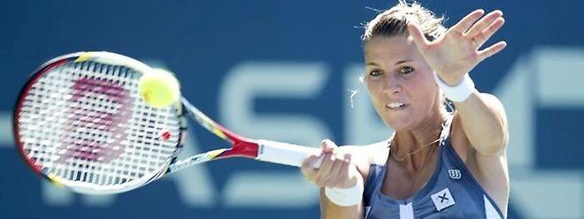 Mandy Minella möchte den nächsten Turniersieg perfekt machen.