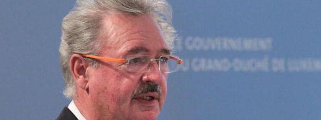 O ministro luxemburguês da Imigração, Jean Asselborn