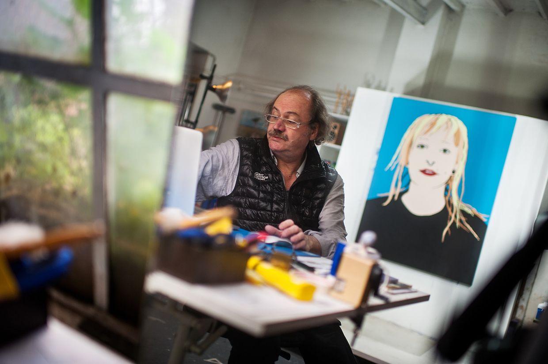 """Visite d'atelier"": zu Besuch bei Armand Strainchamps"