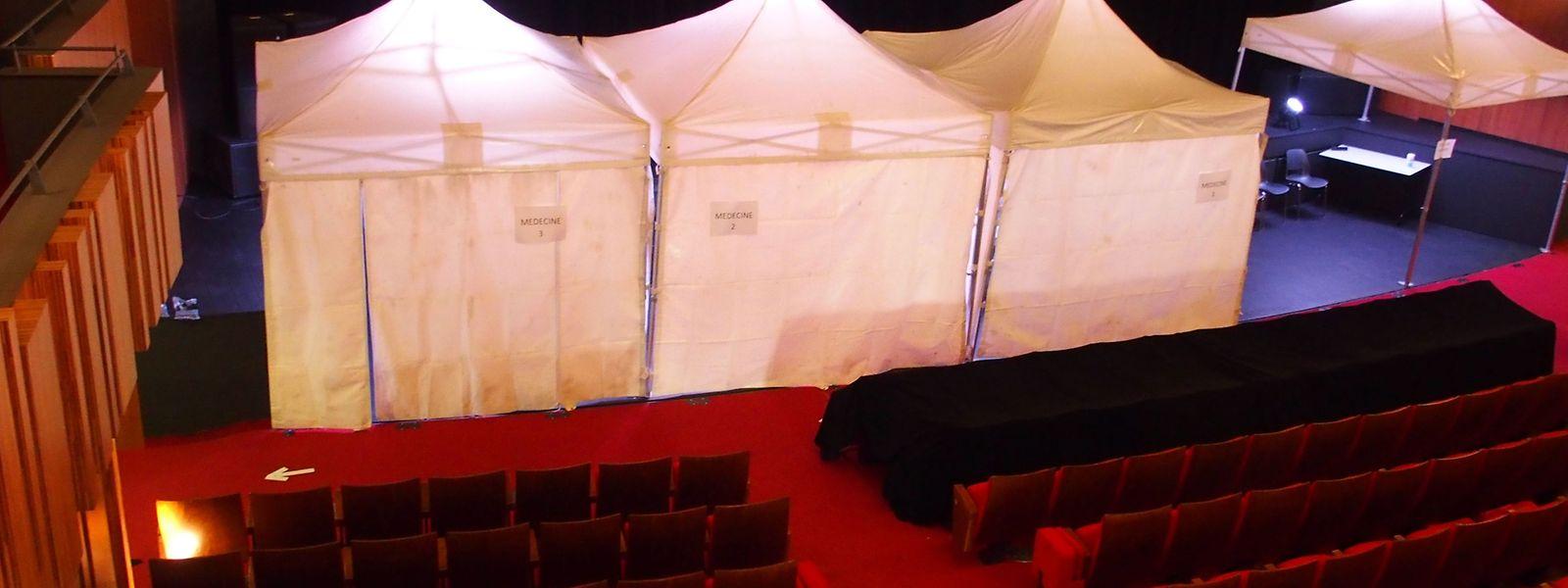 A Thionville, c'est le théâtre qui offre son cadre pour la vaccination depuis le 26 février dernier.