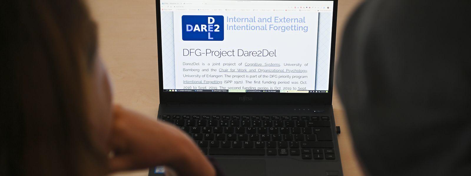 Forscher in Deutschland haben ein System entwickelt, das dem Menschen beim Löschen von ungenützten Daten am PC helfen soll.
