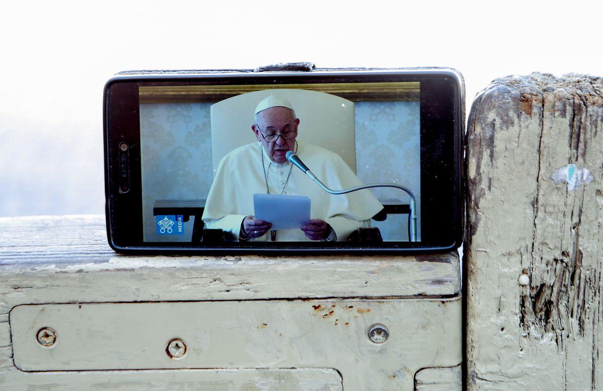 Deutlich mehr gefragt als vor der Corona-Krise: Übertragungen von Messen und Audienzen von Papst Franziskus.