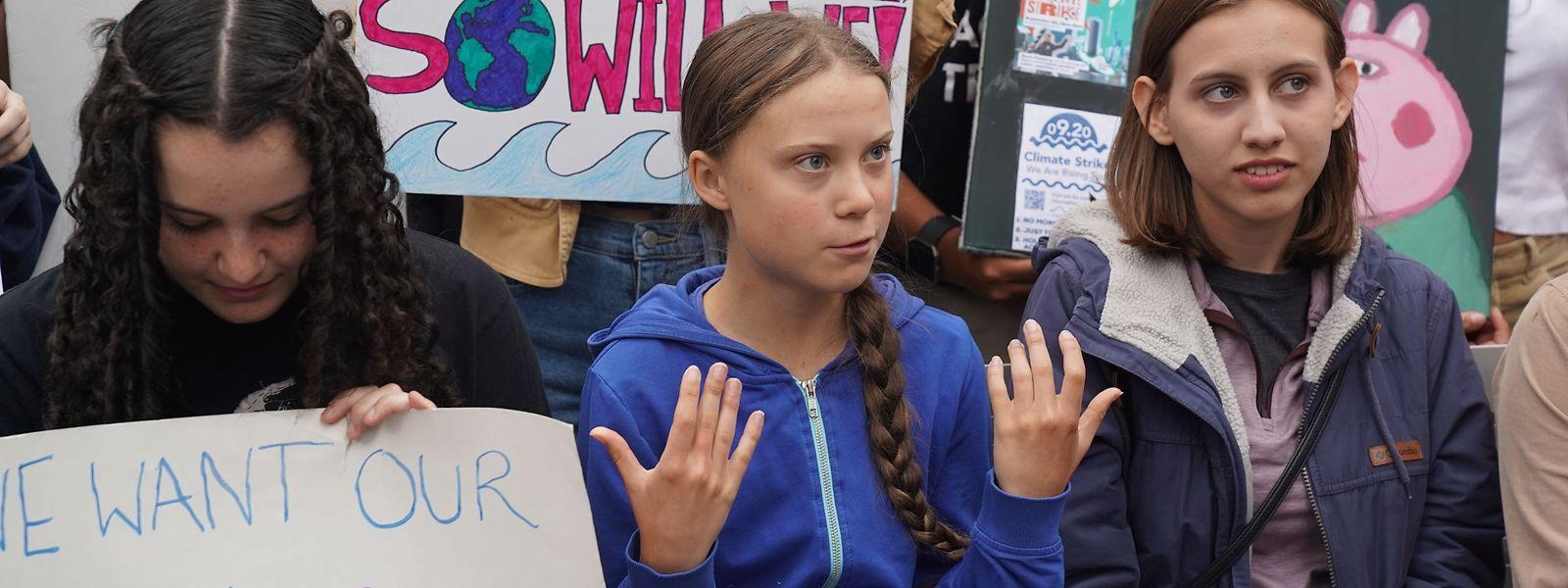 Greta Thunberg hatte im Vorfeld ihres USA-Besuchs gesagt, sie verzichte auf ein Treffen mit Donald Trump.